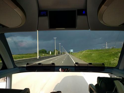 Rain ahead.Дождь впереди.