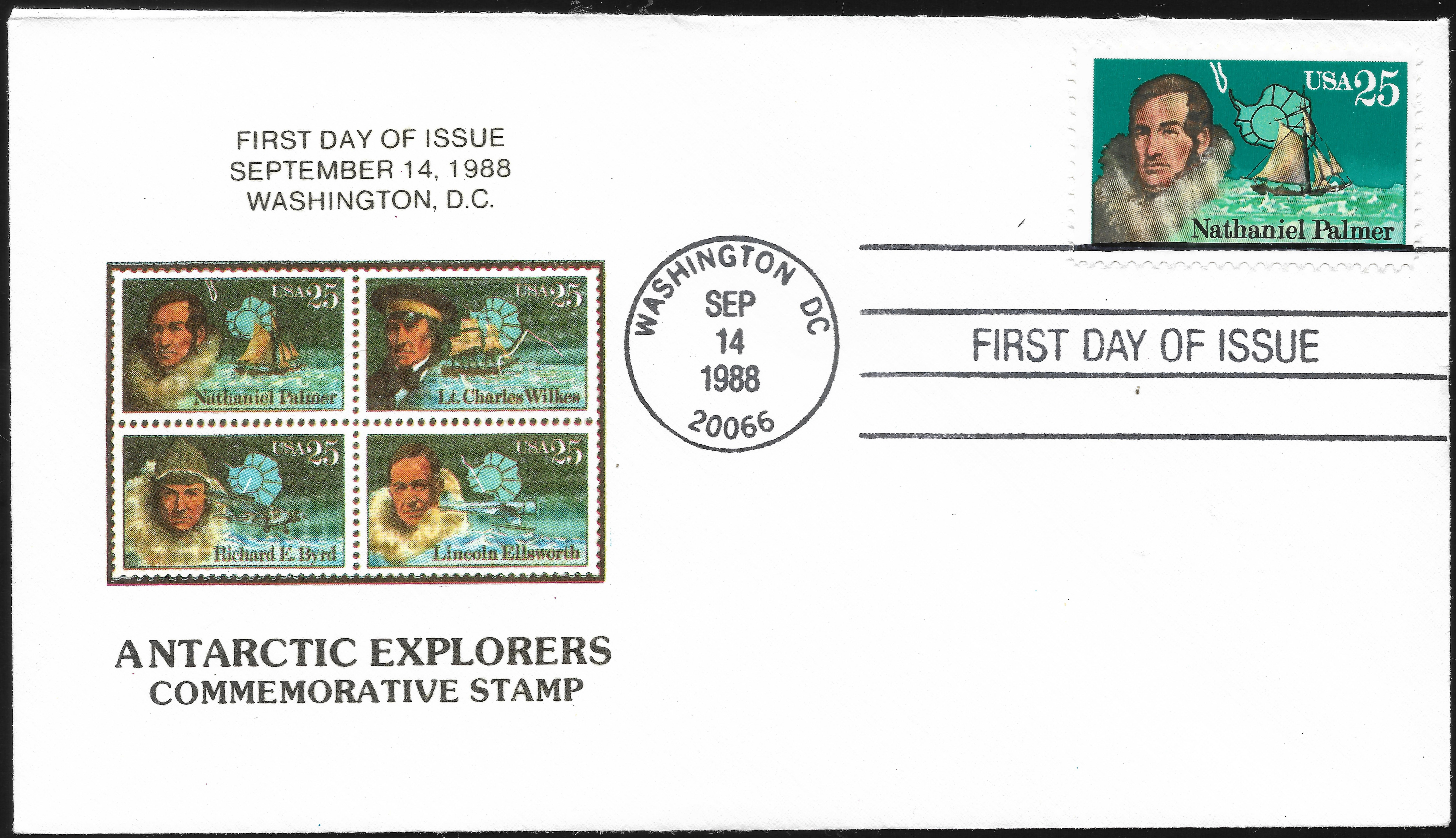 United States - Scott #2386 (1988) first day cover