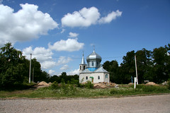 Temple of Protection of the Blessed Virgin. Village Drujne (until 1964 - Ovechache), Kalinovsky district, Vinnitsa region.