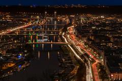 La Seine à Rouen le soir du 15 janvier à 18h. IV - 2019