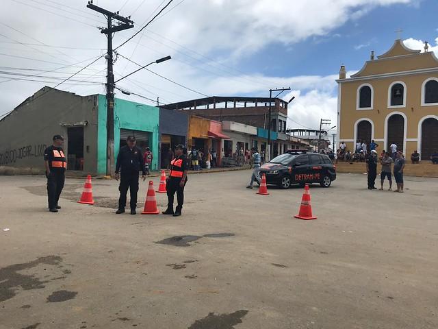 São Benedito do Sul: MPPE e Detran realizam blitz educativa (18.01.19)