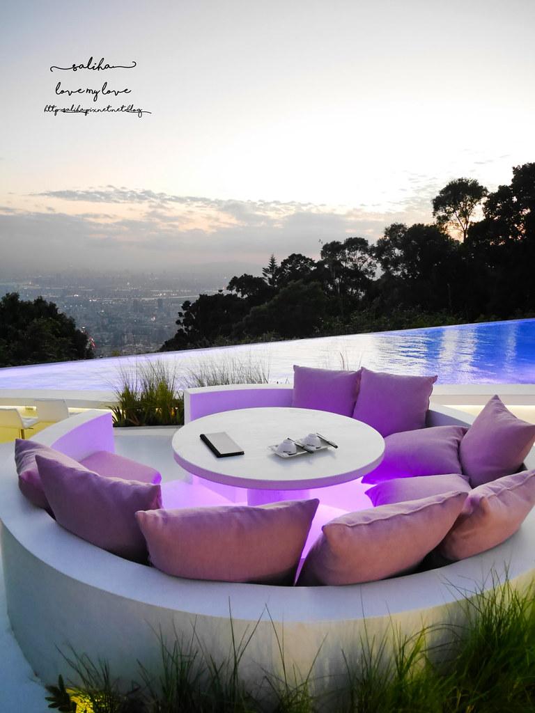台北陽明山文化大學THETOP屋頂上夜景餐廳白天景色超浪漫情人節推薦大餐景觀餐廳 (10)