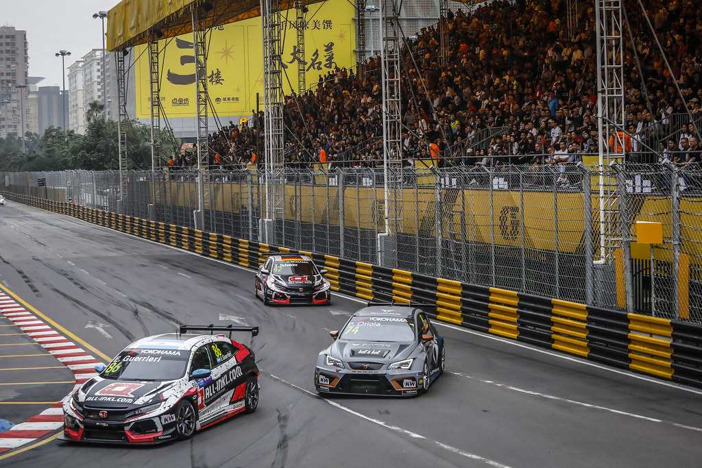 86 GUERRIERI Esteban, (arg), Honda Civic TCR team ALL-INKL.COM Munnich Motorsport, action during the 2018 FIA WTCR World Touring Car cup of Macau, Circuito da Guia, from november  15 to 18 - Photo Francois Flamand / DPPI