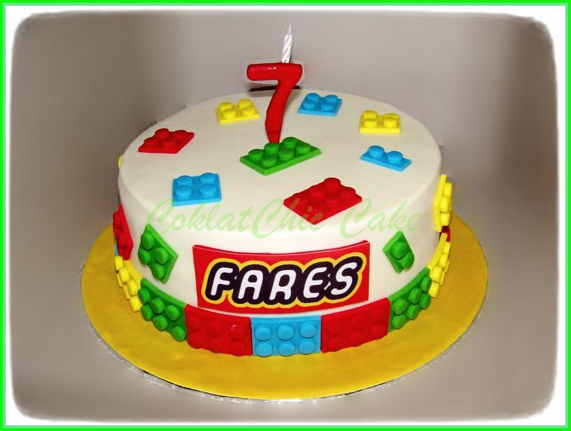 Cake Lego FARES 24 cm