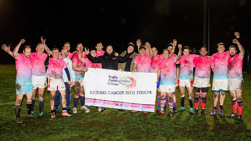 Rugby Against Cancer lose to the Army Masters 80 - 20.