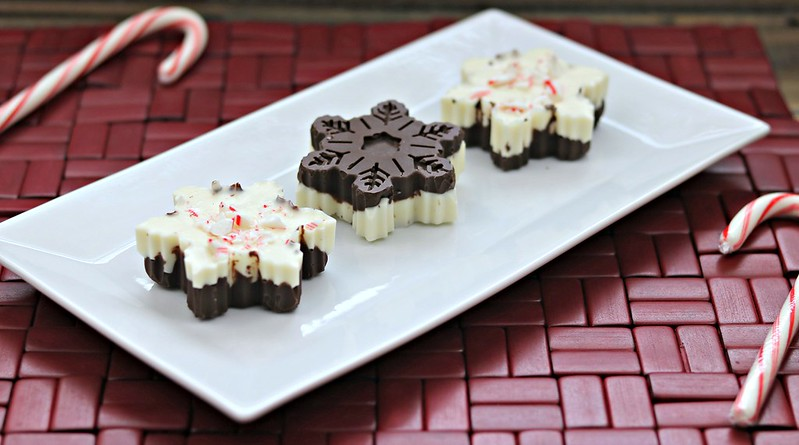 Chocolate Cherry Peppermint Bark