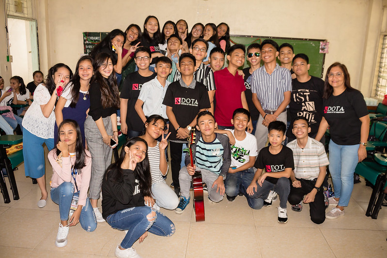 013 EDITS Group Pictures of Christmas Party 2018 at PNHS Baclaran