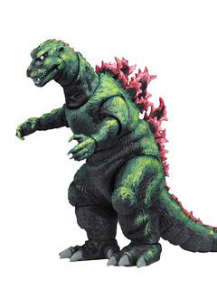 以海報的鮮豔色彩登場! NECA《Godzilla, King of the Monsters!》哥吉拉 1956 電影海報版 Godzilla 1956 Movie Poster 6 吋可動作品
