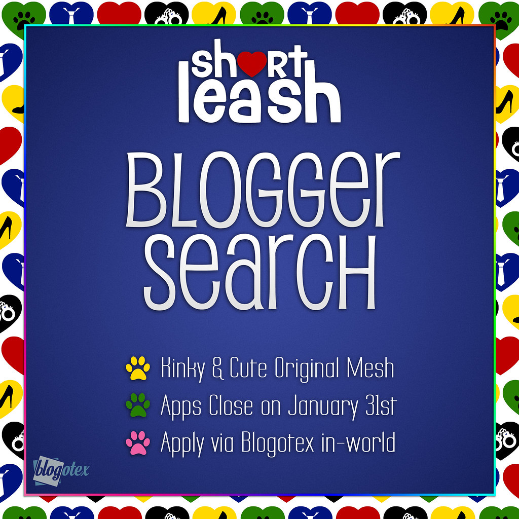 Calling All Bloggers! .:Short Leash:. Blogger Search