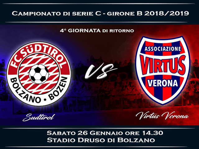 Südtirol - Virtus Verona 1-1 FINALE