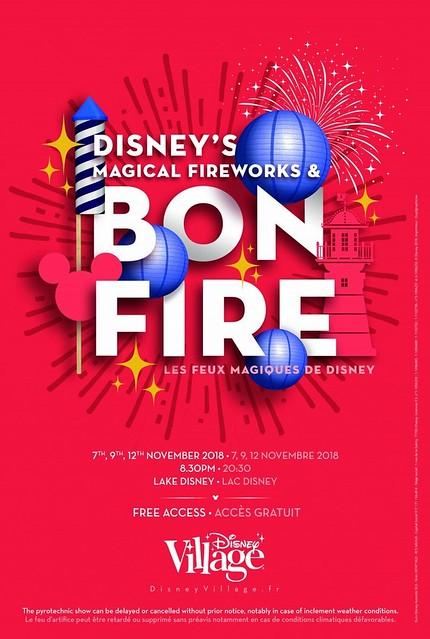 Les Feux Magiques de Disney 2018