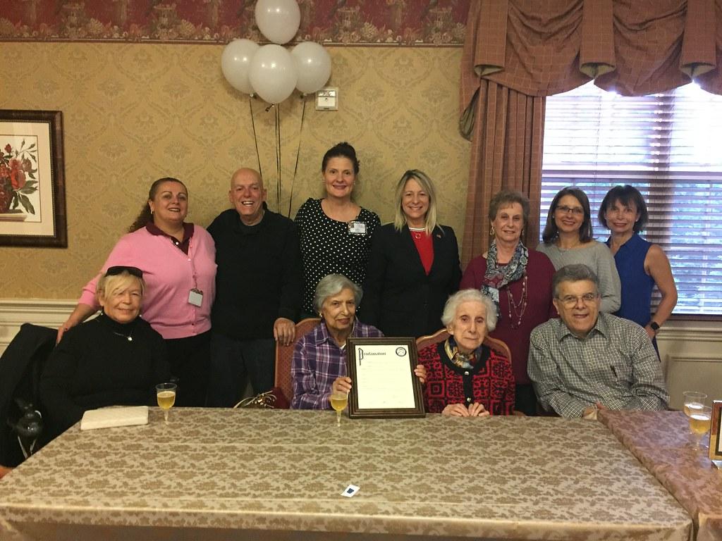 Carmel Cucinotta Celebrates 100th Birthday