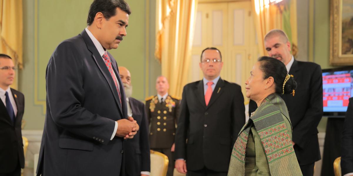 Presidente Maduro recibe Cartas Credenciales de nuevos embajadores acreditados ante Venezuela