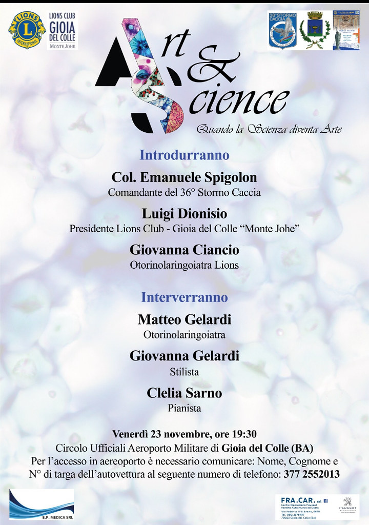 art & science al 36° stormo
