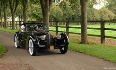 Bugatti Atlantic du film Overdrive - Photo of Corbon