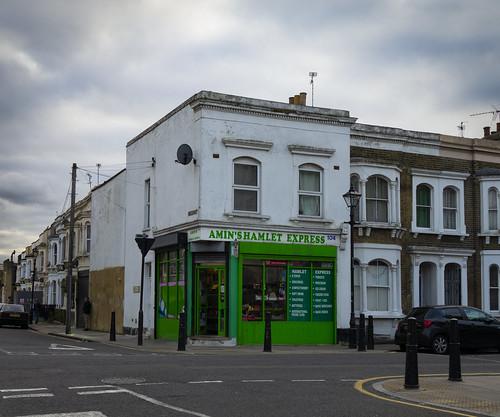 Corner Shop, Hamlets Way, Mile End