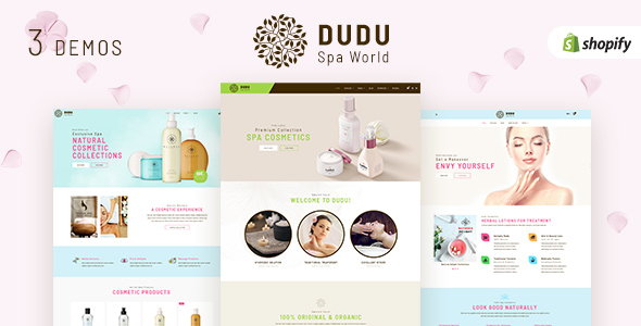 DUDU Cosmetics v1.1 - Sectioned Shopify Cosmetics Theme