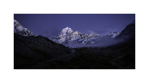 Mount Cook, at Dawn