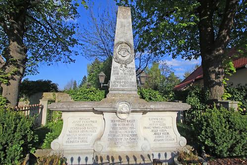 Zogelsdorf. Kriegerdenkmal, 1920