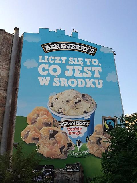 Ben & Jerry, reklama