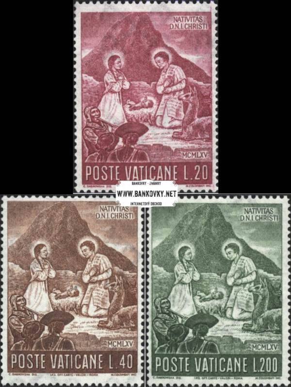 Známky Vatikán 1965 Vianoce