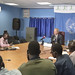 Chair of the Security Council Working Group on Children and Armed Conflict addresses a press conference