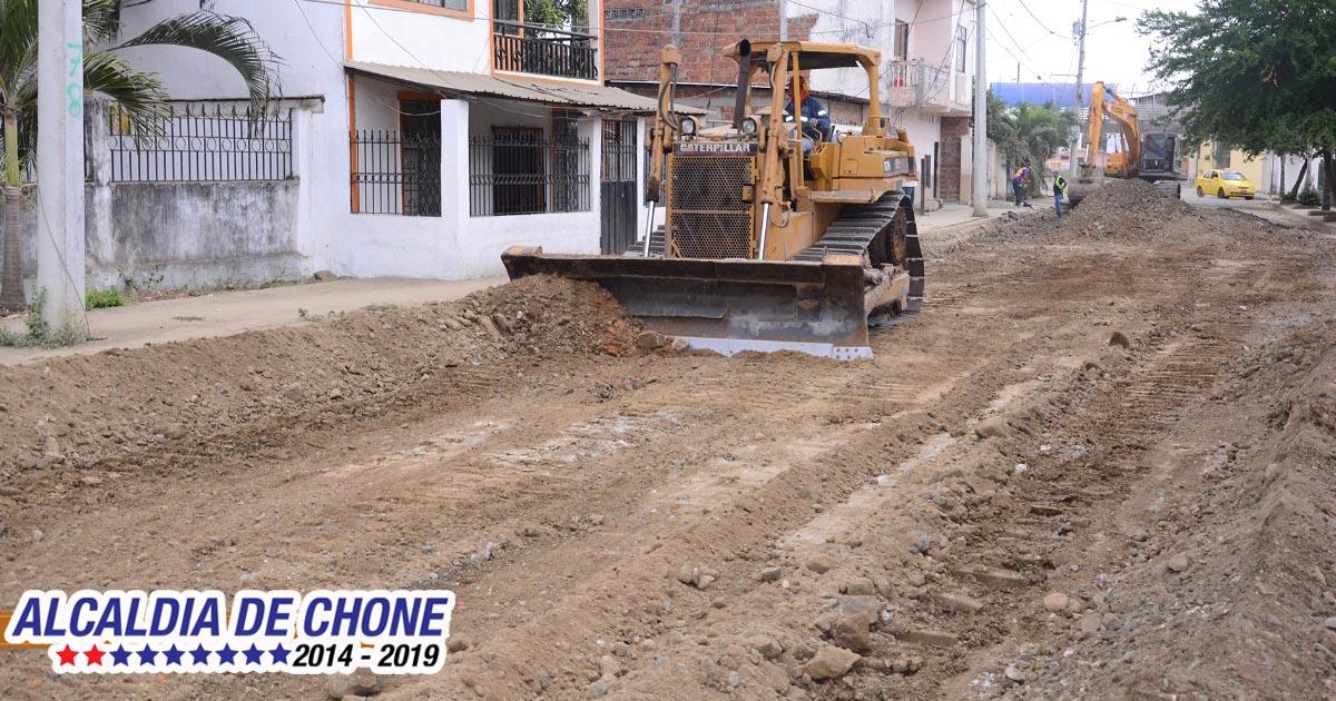 La calle Colibrí será asfaltada junto a otras arterias viales