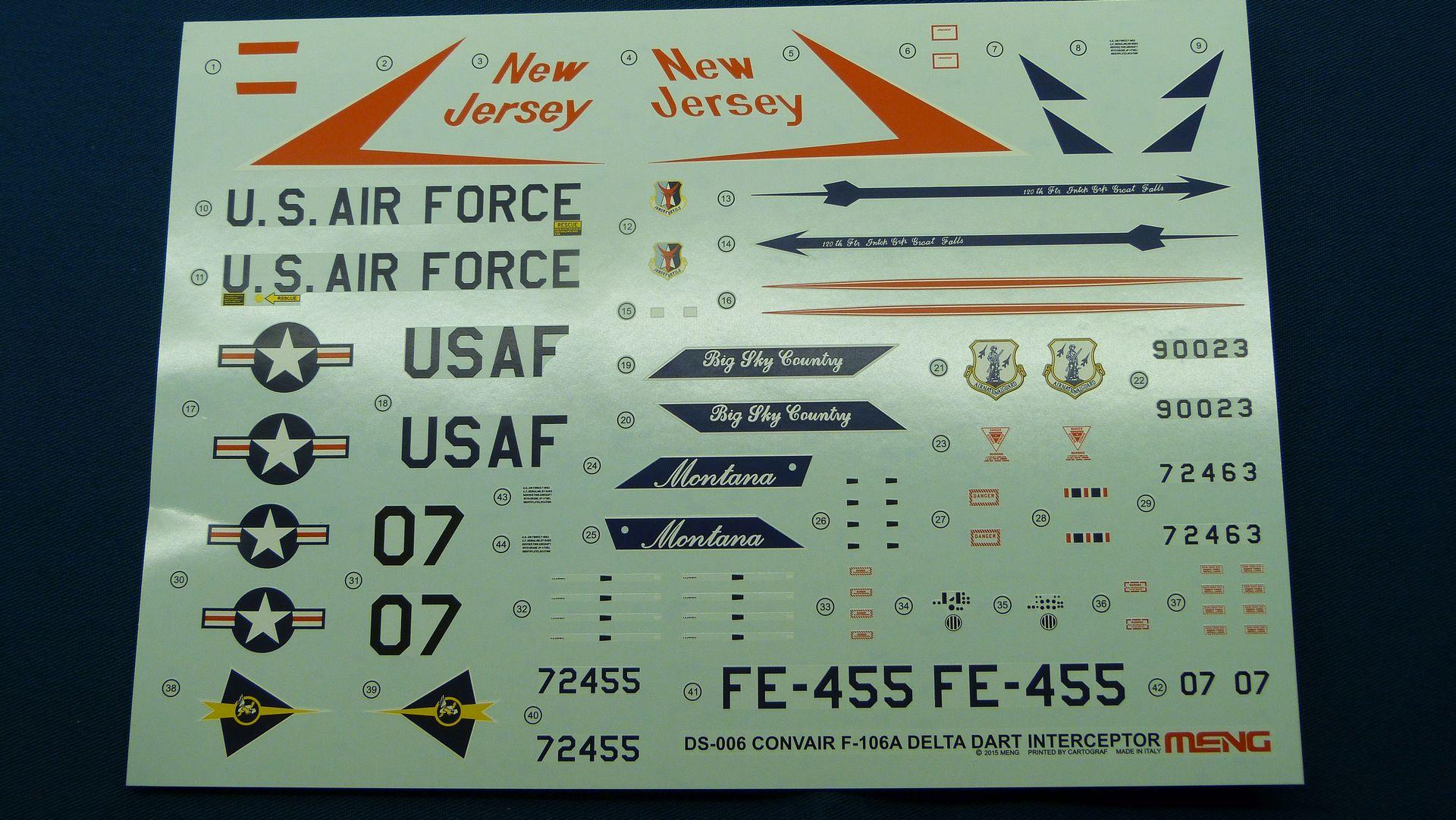 Meng Deltavingar, F-102 och F-106, 1/72 44065035370_625ddb5097_o