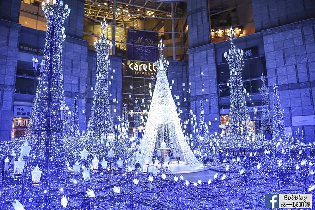 東京汐留Caretta illumination2018 (冰雪奇緣與魔法奇緣)-17