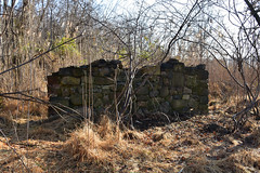 Greenbelt ruins from the 19th-century Ketchum's Mill Complex