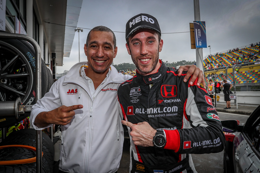 GUERRIERI Esteban, (arg), Honda Civic TCR team ALL-INKL.COM Munnich Motorsport, portrait during the 2018 FIA WTCR World Touring Car cup of Macau, Circuito da Guia, from november  15 to 18 - Photo Alexandre Guillaumot / DPPI