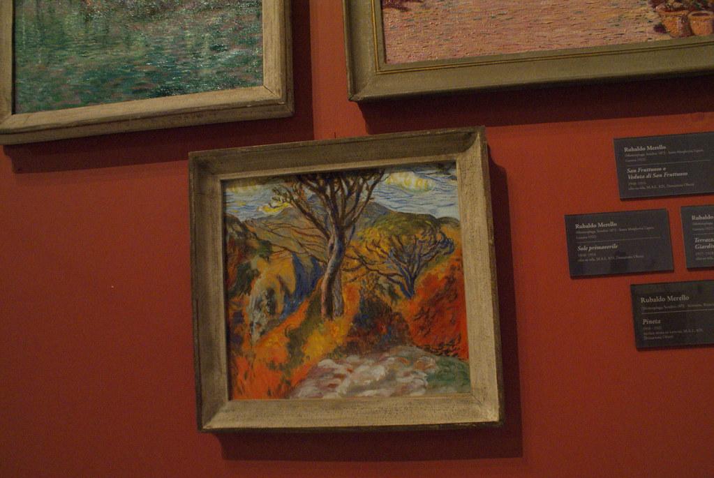 "Rubaldo Merello ""Pinetta"" (vers 1918) - Musée des beaux arts de Gènes."