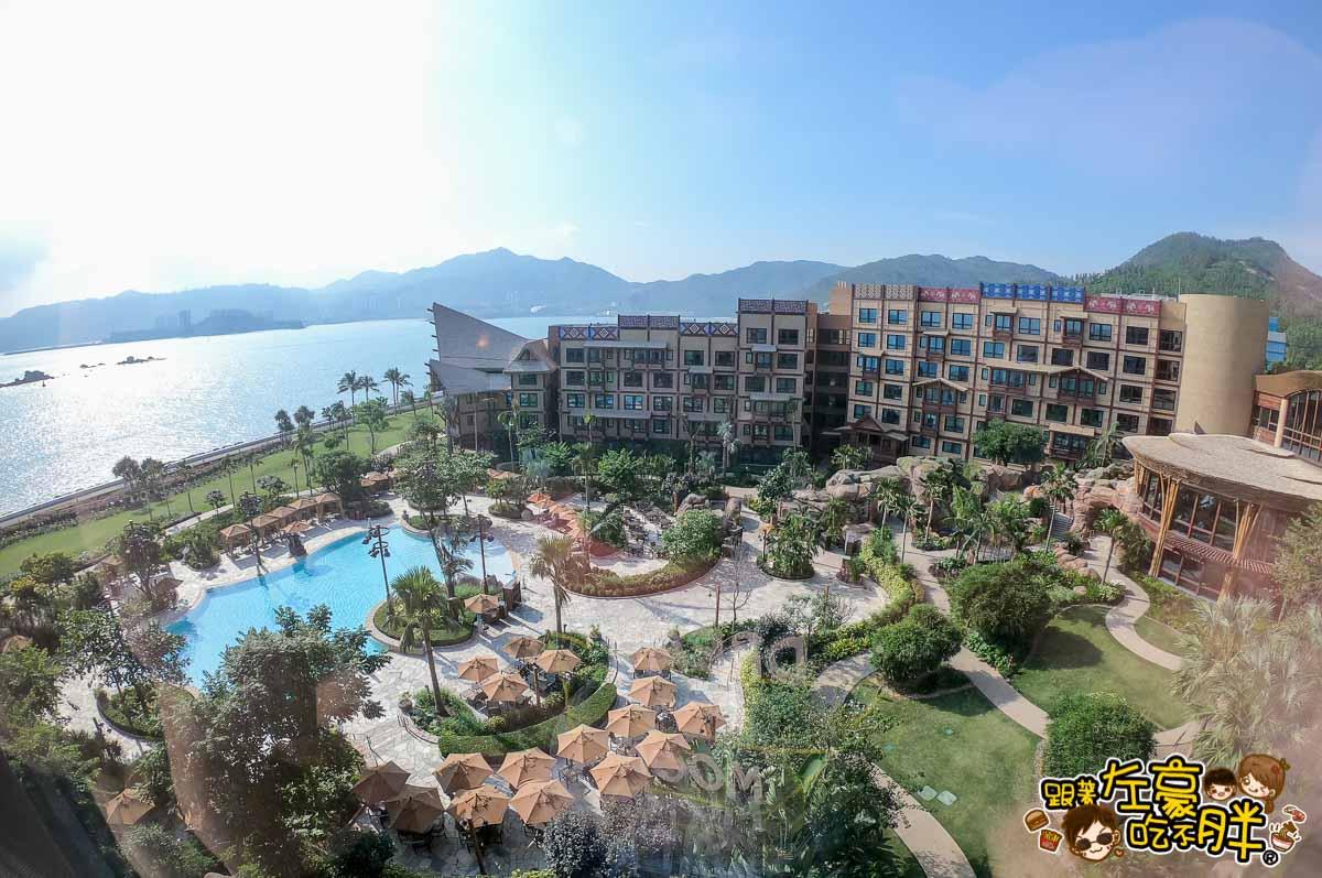 香港迪士尼探索家度假酒店海景房-1
