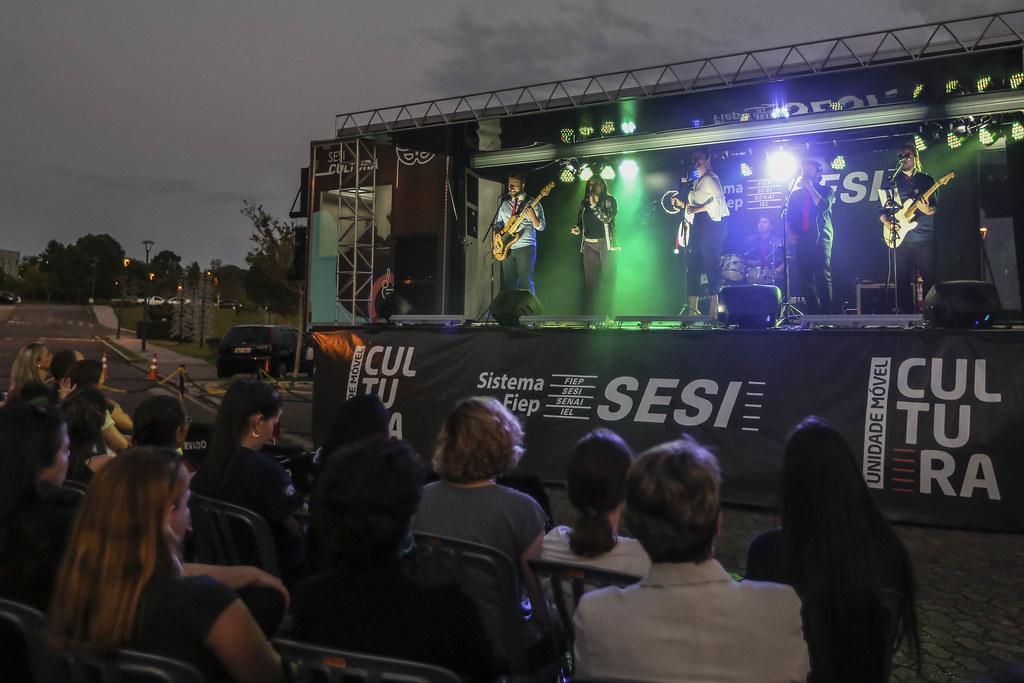 Inauguração da Unidade Móvel de Cultura e Inauguração das árvores de LED
