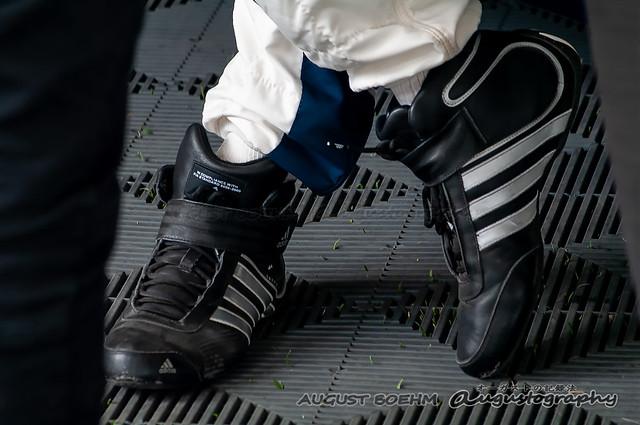 Braham prefers Adidas