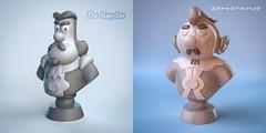 3D character design / modeling