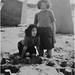 Irene and Elsie at Rhyl, September 1949