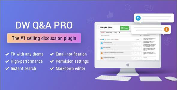 DW Question & Answer Pro v1.1.8 – WordPress Plugin