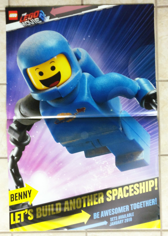 The LEGO Movie 2 Benny Poster