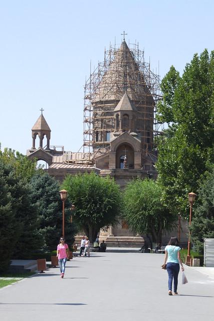 Etchmiadzin Cathedral, 04.09.2013., Fujifilm FinePix S9500