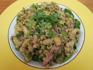 Creamy Pesto Asparagus 'Einkorn' (Barley)