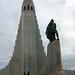 Standing Tall in Front of Hallgrímskirkja