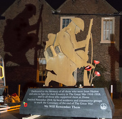 Hedon Armistice Centenary War Memorial