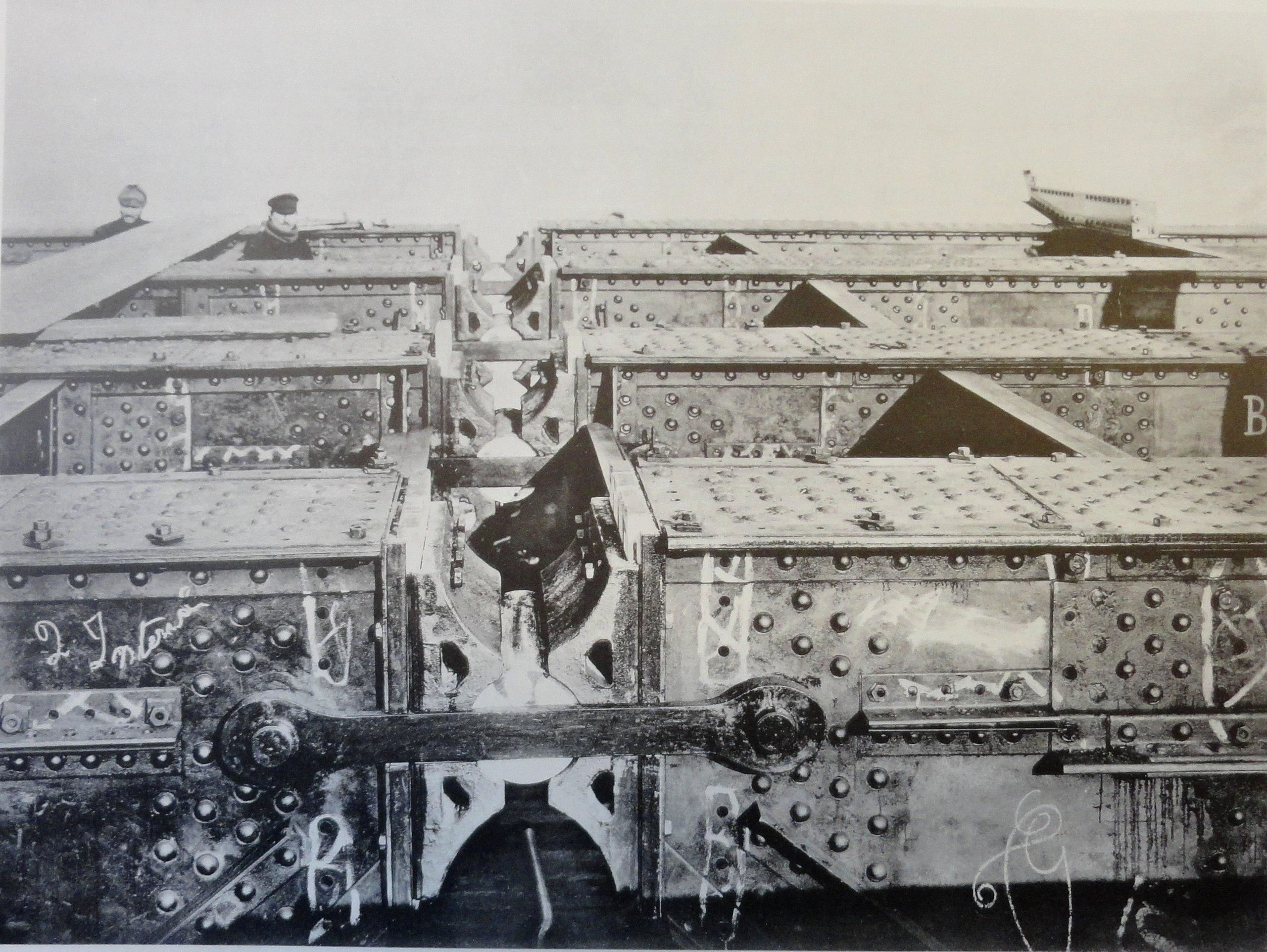 1901. Ключевой шарнир арочного пролета. 1 марта