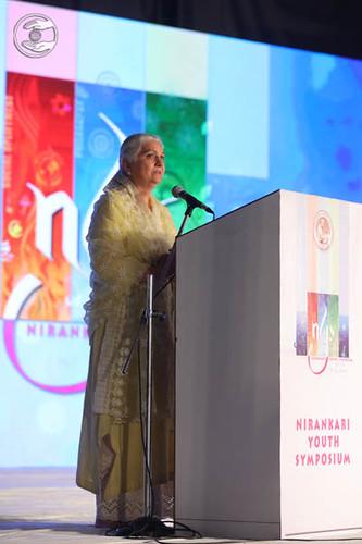 Member Executive Committee SNM, Mohini Ahuja Ji, expresses his views