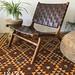 Bruine Ushuaia loungestoel