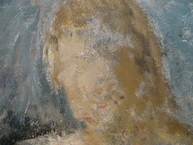 Öl-Malerei (Detail-Aufnahme)
