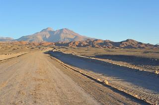 Leaving Lagunas Cejar and Piedra