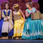 Ella Enchanted at the Arvada Center - Ella (Lindsay Weidig), Olive (Morgan Patterson) and Hattie (Brekken Baker)  Matt Gale Photography 2019