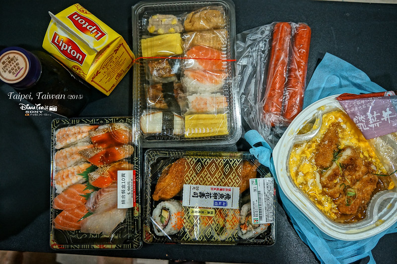 2015 Taiwan Taipei Cheap Sushi